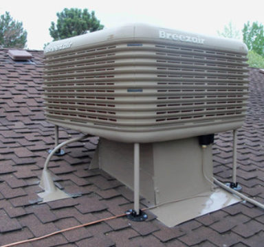 Evaporative Cooler Cleaning